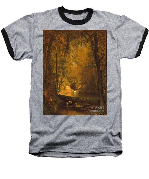 The Trout Pool Baseball T-Shirt by John Stephens
