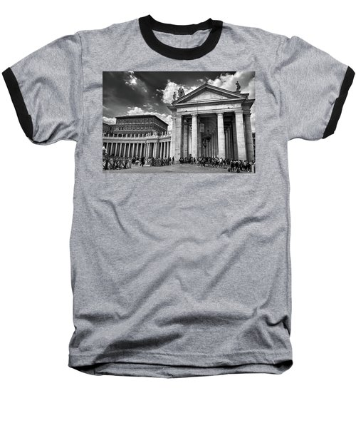The Tuscan Colonnades In The Vatican Baseball T-Shirt