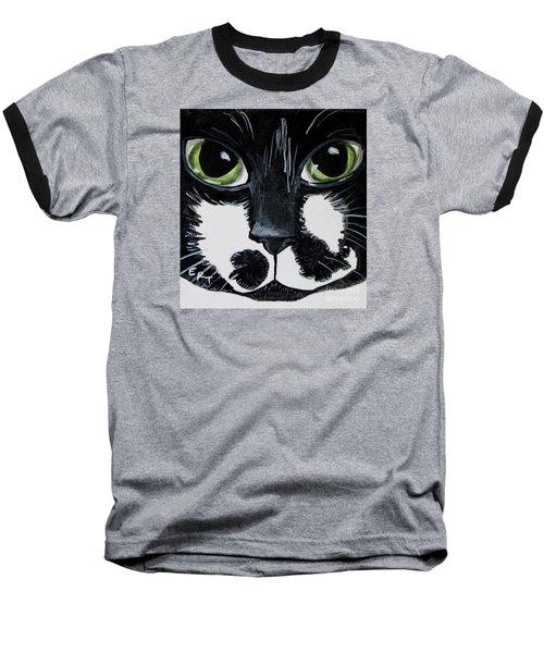 The Tuxedo Cat Baseball T-Shirt
