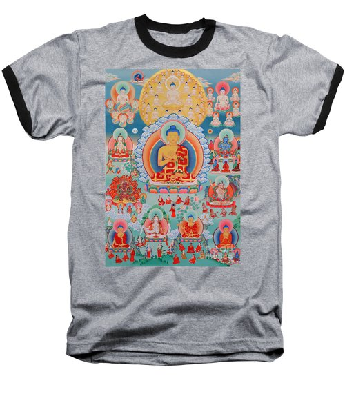 The Twelve Primordial Teachers Of Dzogchen - Tonpa Chu Ni Baseball T-Shirt