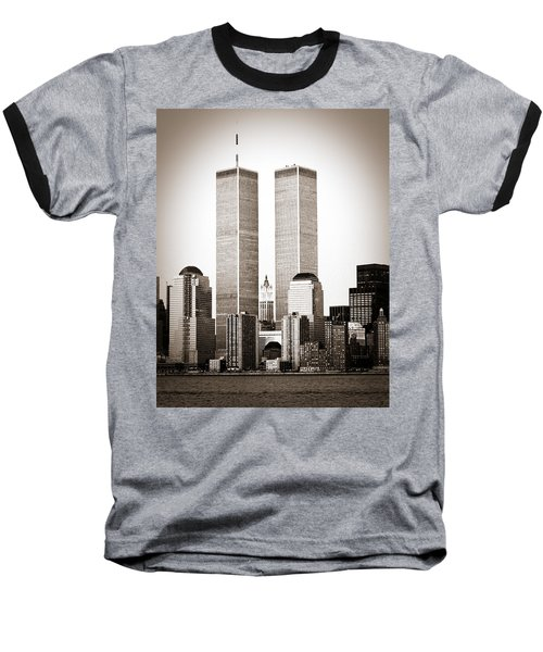 The Twin Towers Baseball T-Shirt