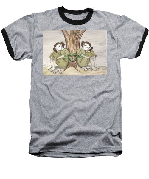 The Twins Wait Baseball T-Shirt