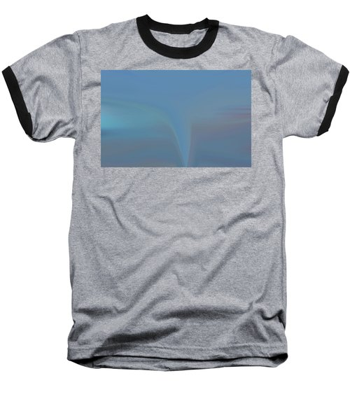 Baseball T-Shirt featuring the painting The Twister by Dan Sproul