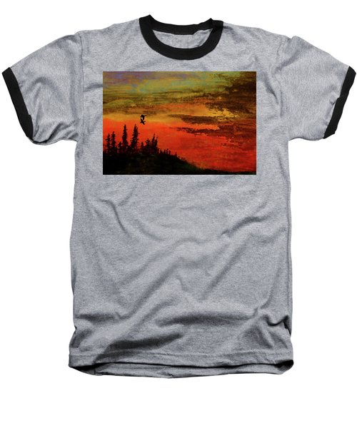 The Two Of Us Baseball T-Shirt by R Kyllo
