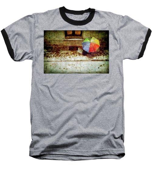 The Umbrella Baseball T-Shirt by Silvia Ganora
