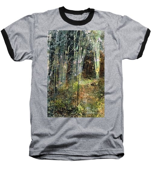 The Underbrush Baseball T-Shirt by Frances Marino