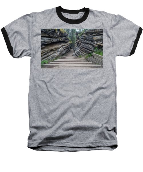 The Unknown Path Baseball T-Shirt by Alpha Wanderlust