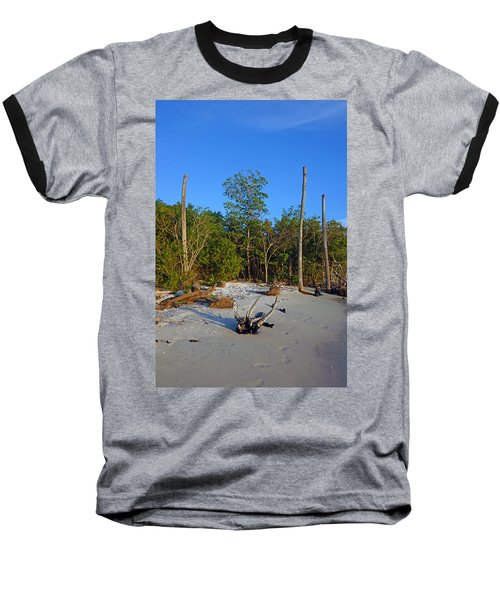 The Unspoiled Beauty Of Barefoot Beach In Naples - Portrait Baseball T-Shirt