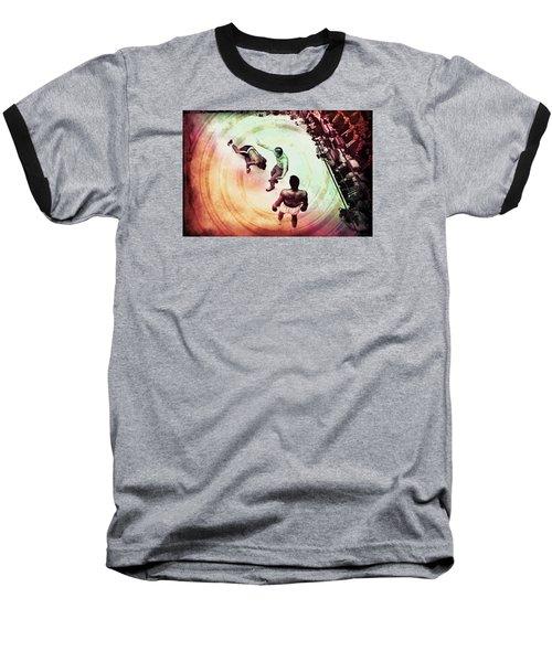 Baseball T-Shirt featuring the photograph The Upset by Allen Beilschmidt