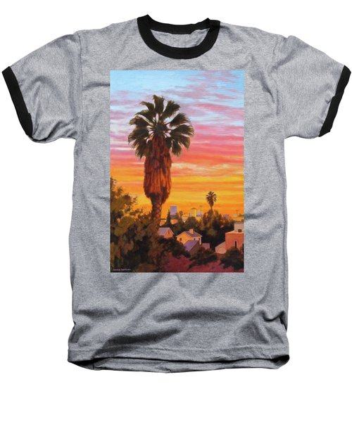 The Urban Jungle Baseball T-Shirt by Andrew Danielsen