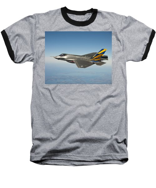 The U.s. Navy Variant Of The F-35 Joint Strike Fighter, The F-35c Baseball T-Shirt