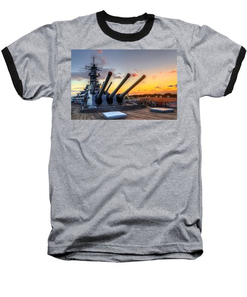 The Uss Missouri's Last Days Baseball T-Shirt