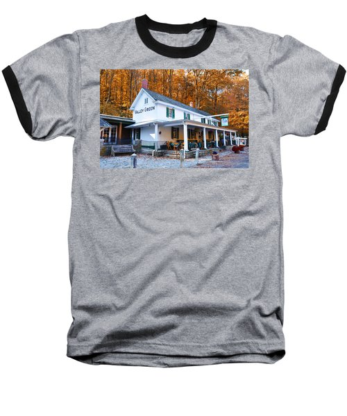 The Valley Green Inn In Autumn Baseball T-Shirt