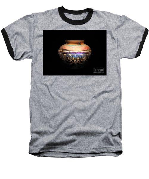 The Vase Of Joy Baseball T-Shirt by Ray Shrewsberry