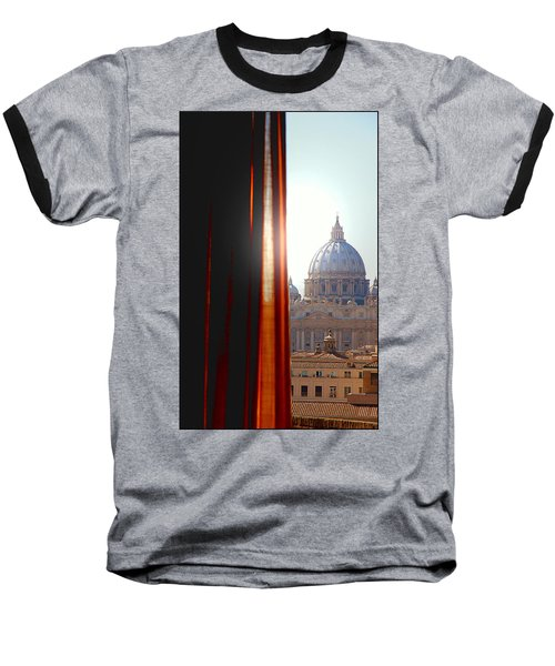 The Vatican Baseball T-Shirt