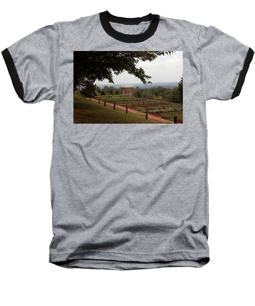 The Vegetable Garden At Monticello Baseball T-Shirt