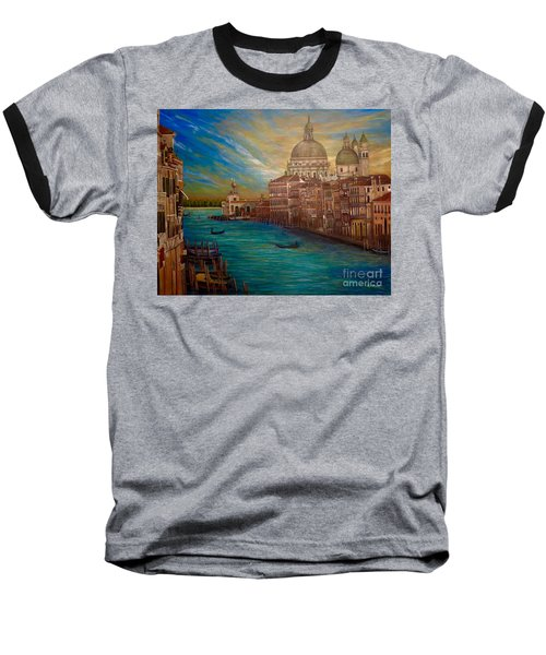 The Venice Of My Recollection With Digital Enhancement Baseball T-Shirt