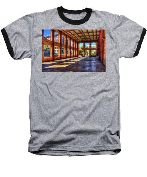 The Venue Old Mill Wedding Venue Reedy River South Caroline Art Baseball T-Shirt by Reid Callaway