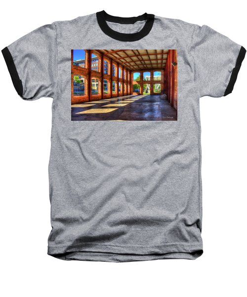 The Venue Old Mill Wedding Venue Reedy River South Caroline Art Baseball T-Shirt