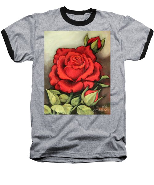 The Very Red Rose Baseball T-Shirt