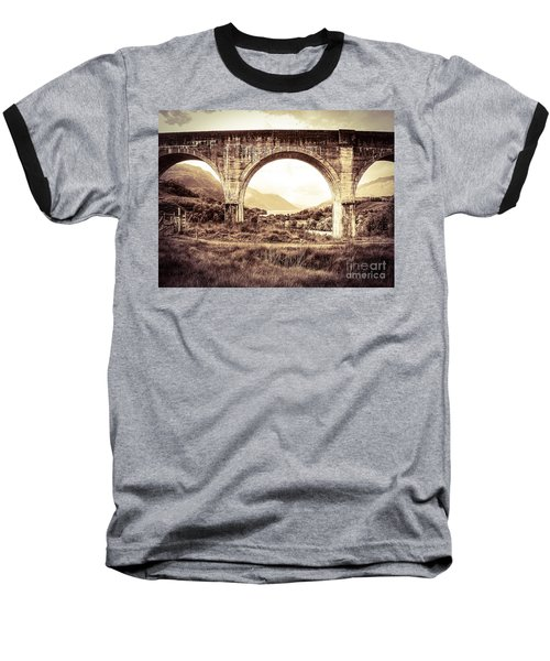 The Viaduct And The Loch Baseball T-Shirt