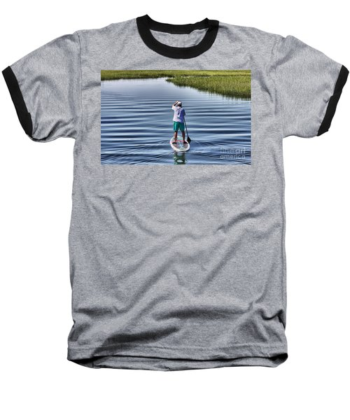 The View From A Bridge Baseball T-Shirt