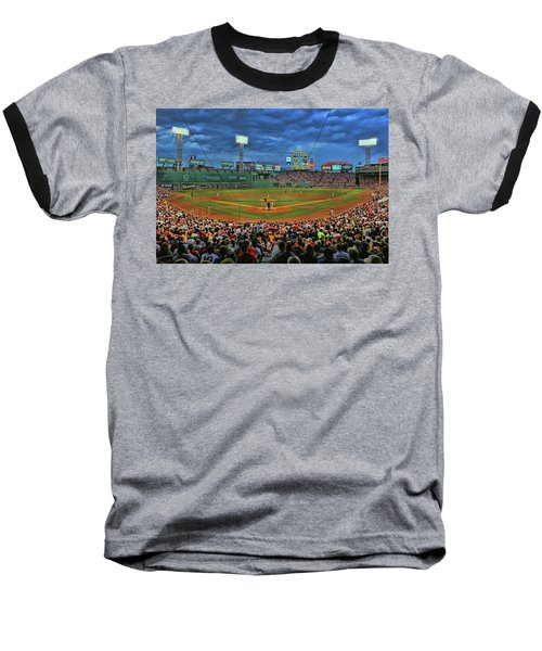 The View From Behind Home Plate - Fenway Park Baseball T-Shirt