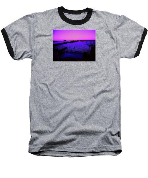The Purple View  Baseball T-Shirt