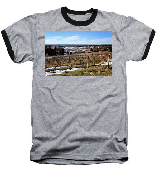 The Vineyard On Old Mission Baseball T-Shirt