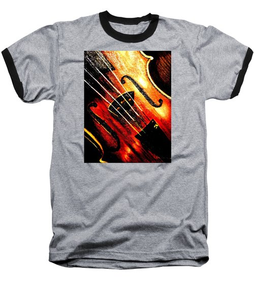 The Violin Baseball T-Shirt