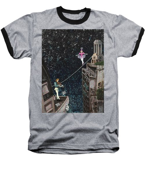 The Violinist And The Dancer Baseball T-Shirt