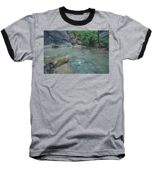Baseball T-Shirt featuring the photograph The Virgin River II by Margaret Pitcher
