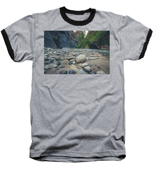 Baseball T-Shirt featuring the photograph The Virgin River by Margaret Pitcher