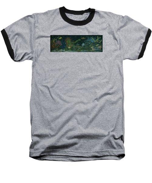 The Visitor Baseball T-Shirt by Dawn Fairies