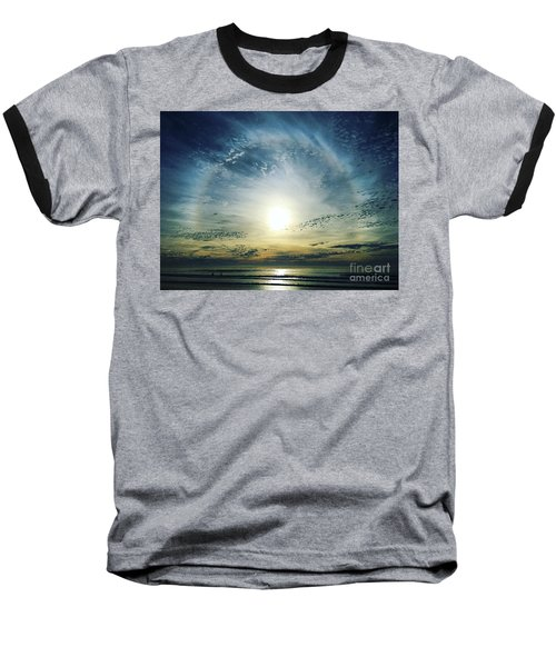 The Voice Of The Lord Is Over The Waters... Baseball T-Shirt by Sharon Soberon
