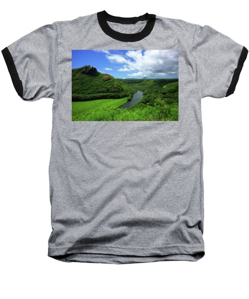 The Wailua River Baseball T-Shirt