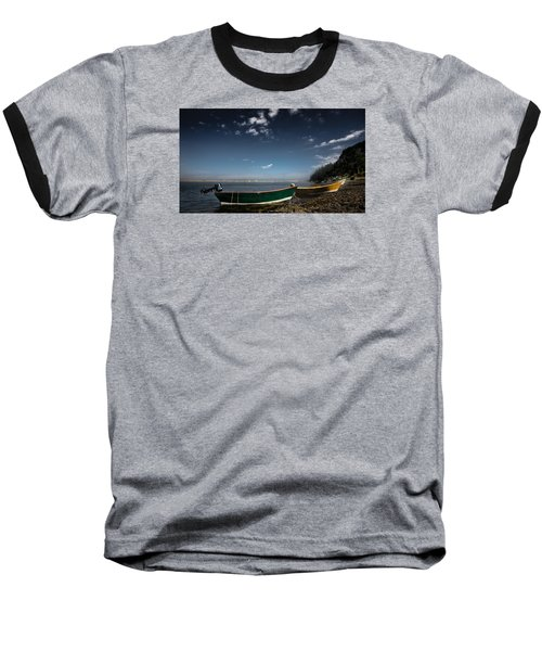 The Wait Baseball T-Shirt by Peter Scott