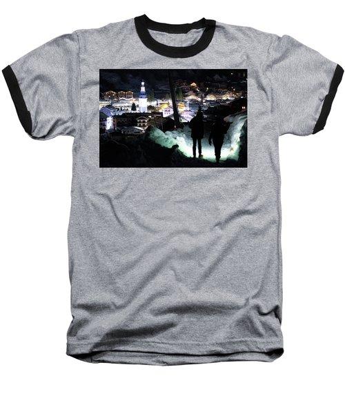 The Walk Into Town- Baseball T-Shirt