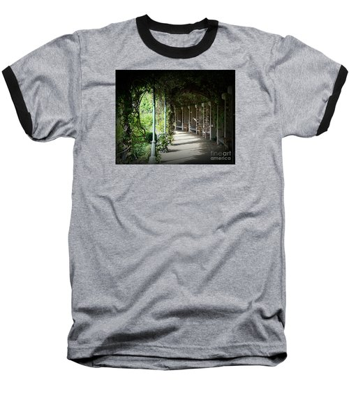 The Walkway Baseball T-Shirt by Lisa L Silva