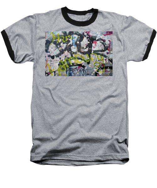 The Wall #9 Baseball T-Shirt