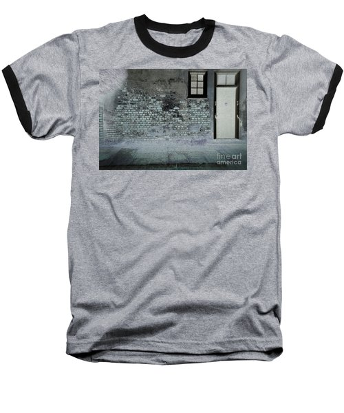 Baseball T-Shirt featuring the photograph The Wall by Douglas Stucky