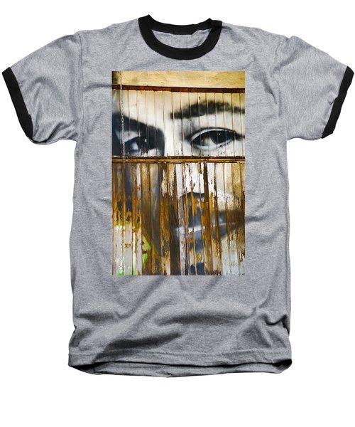 The Walls Have Eyes Baseball T-Shirt