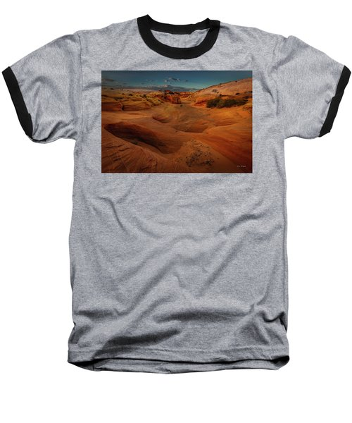 The Wash Of Subtle Shapes And Colors Baseball T-Shirt