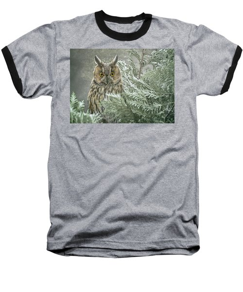 The Watcher In The Mist Baseball T-Shirt