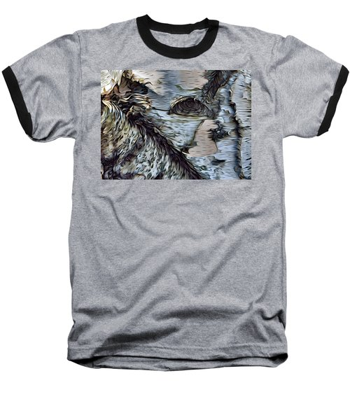 The Watcher In The Wood Baseball T-Shirt
