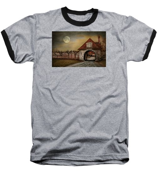 Baseball T-Shirt featuring the photograph The Watcher by Robin-Lee Vieira
