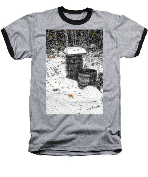 The Water Barrel Baseball T-Shirt