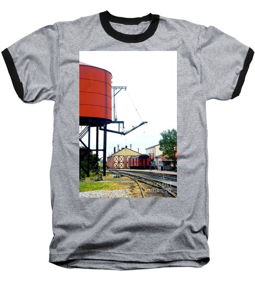Baseball T-Shirt featuring the photograph The Water Tower by Paul W Faust - Impressions of Light