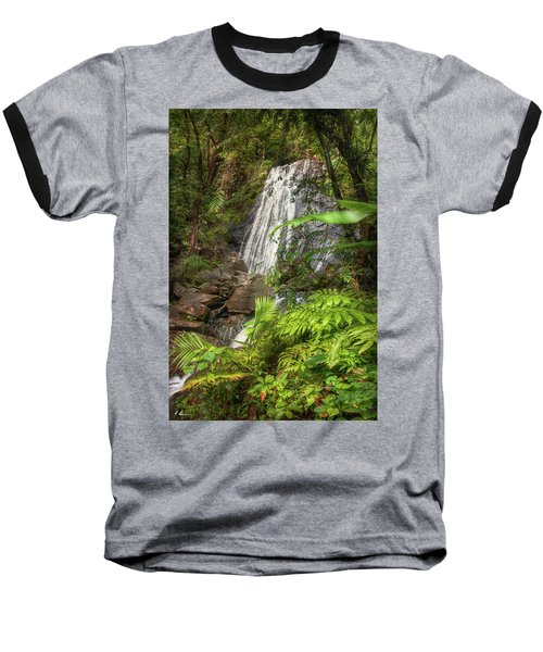 Baseball T-Shirt featuring the photograph The Waterfall by Hanny Heim