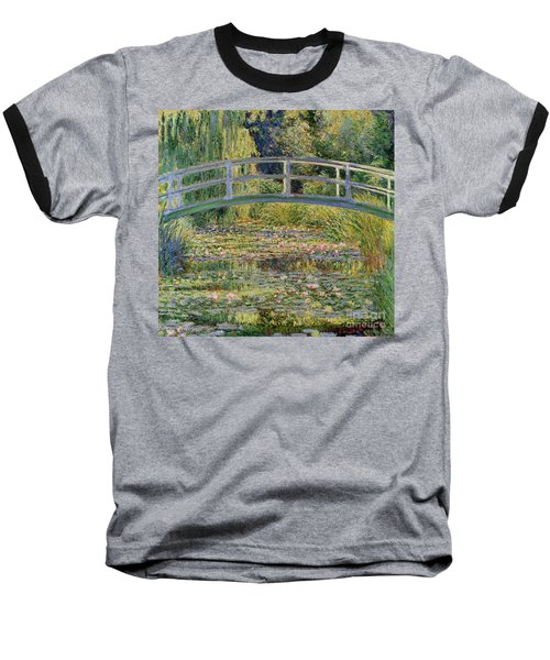 The Waterlily Pond With The Japanese Bridge Baseball T-Shirt